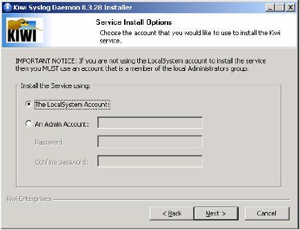 การนำโปรแรกม Kiwi Syslog Daemon มาประยุกต์ใช้กับ Router ยี่้
